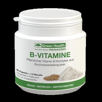 GREEN HEALTH B-VITAMINE KAPSELN 90 STK.